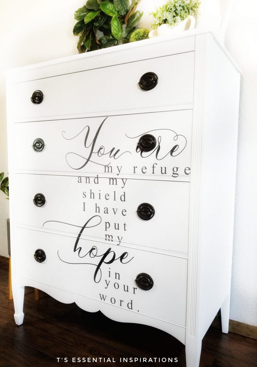 """Redesign Decor Transfers® - Hope - 3 sheets, design size 20"""" X 30"""""""