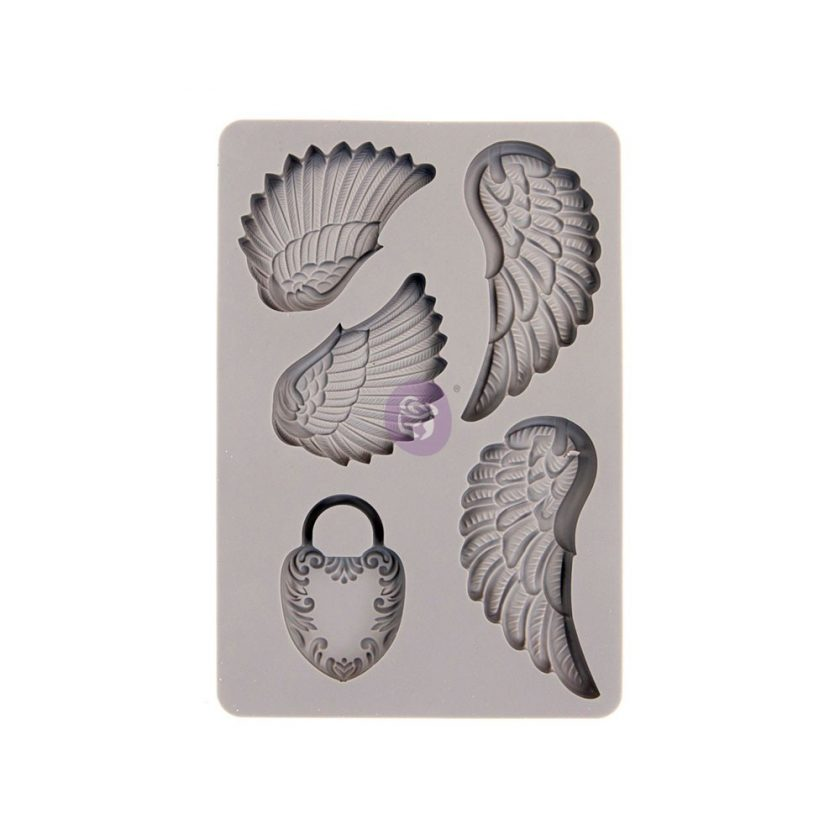 SILICONE MOULD WING & LOCKET