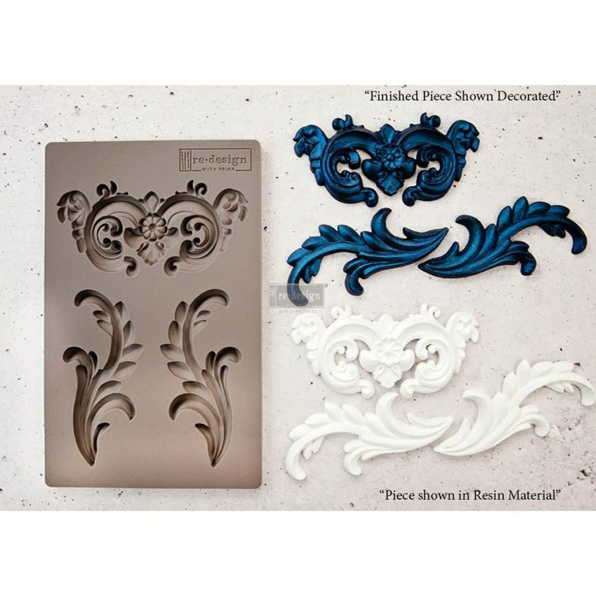"Redesign Décor Moulds® 5""x8"" - Everleigh Flourish"