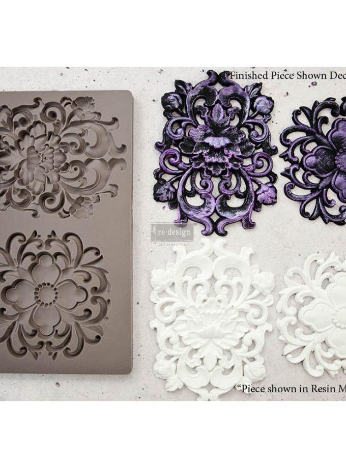 "Redesign Décor Moulds® 5""x8"" - Kingsbury Medallion"
