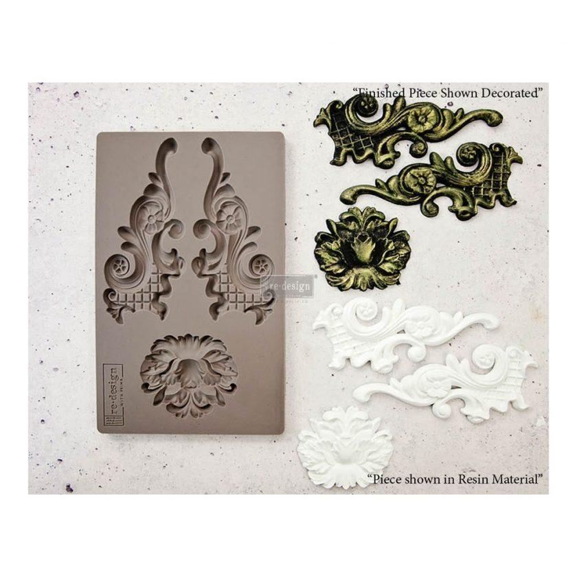 """Redesign Décor Moulds® 5""""x8"""" - Lowell Lattice"""
