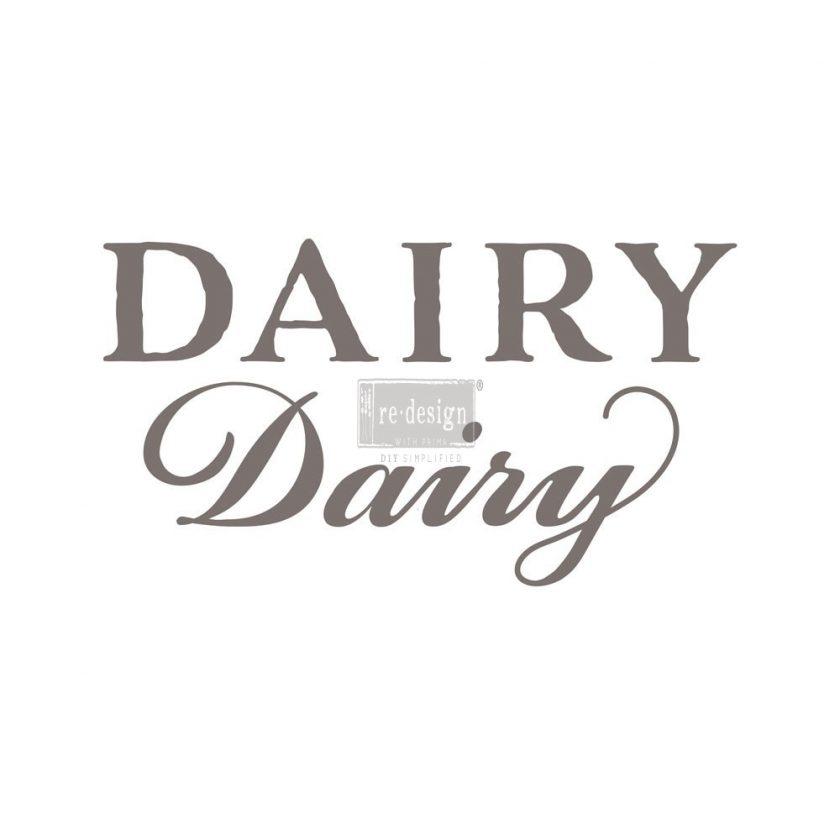 "Redesign Décor Transfers®- Dairy 6""x 34"""