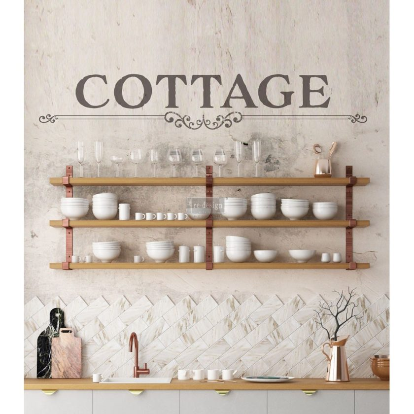 """Redesign Décor Transfers® - Cottage 7""""x 34"""""""