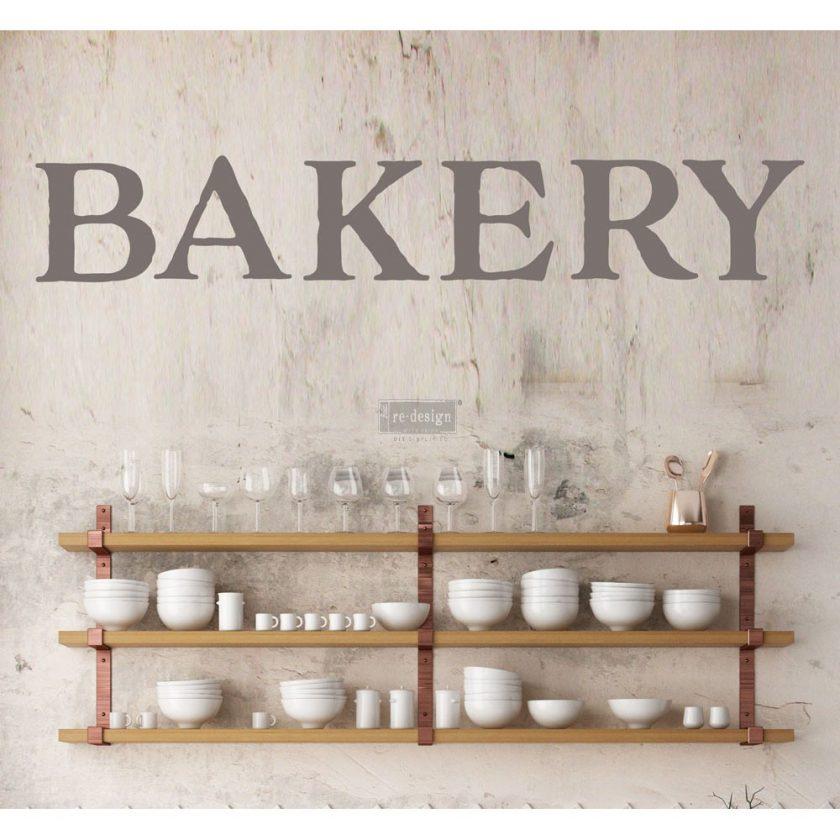 "Redesign Décor Transfers® - Bakery 15""x 27"""