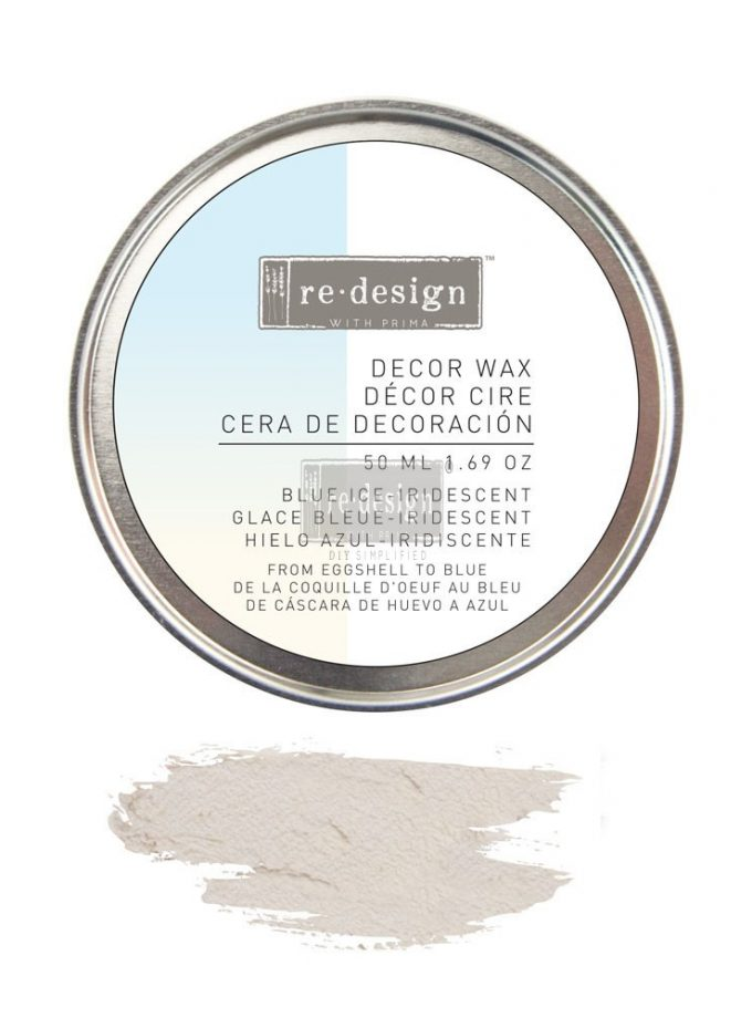 Redesign Decor Wax 1.69oz (50 ml) - Blue Ice Iridescent
