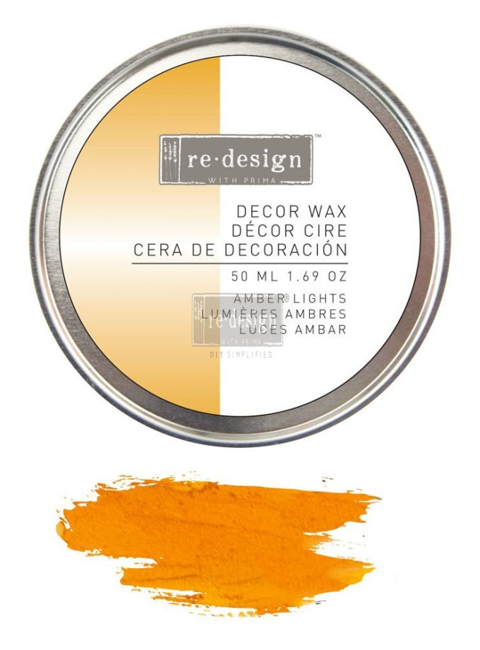 Redesign Decor Wax 1.69oz (50 ml) - Amber Lights