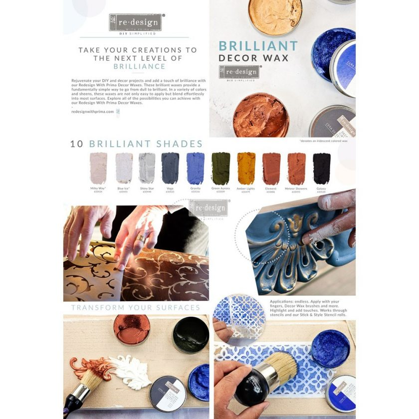 Redesign Decor Wax 1.69oz (50 ml) - Amber Lights
