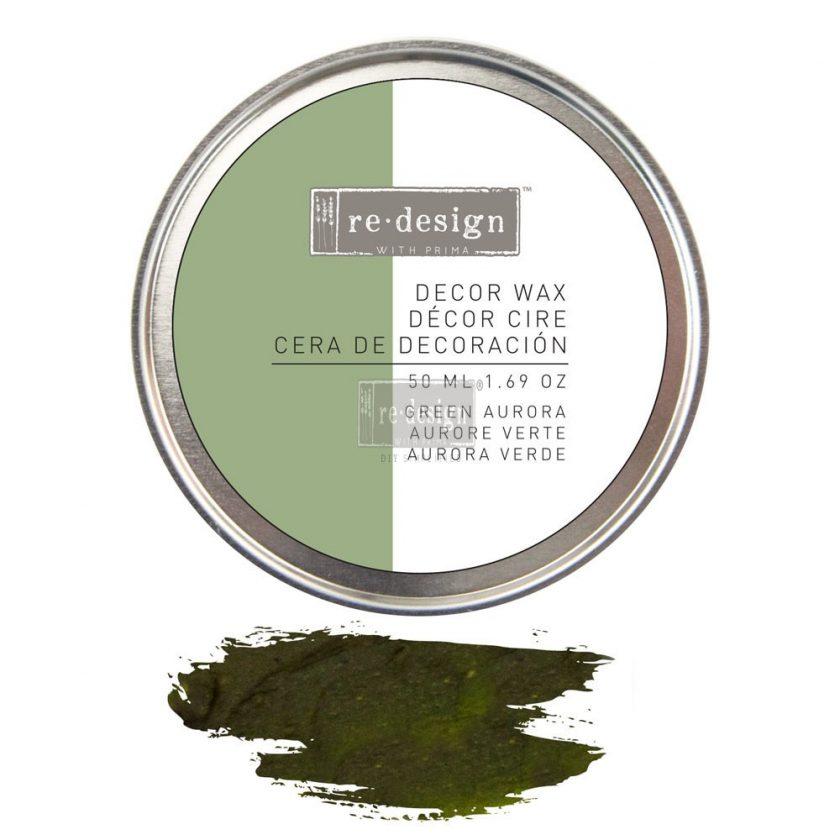Redesign Decor Wax 1.69oz (50 ml) Green Aurora