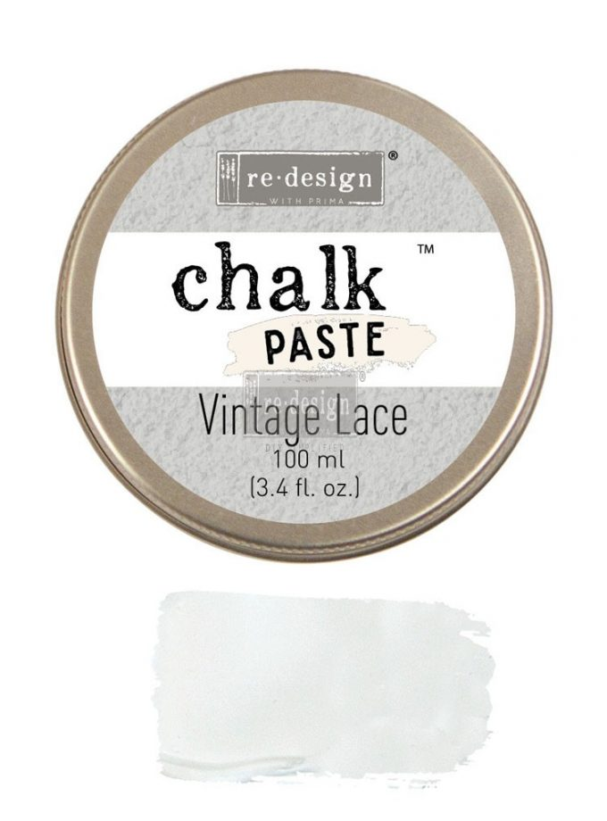 Redesign Chalk Paste® 3.4 fl. oz. (100ml) - Vintage Lace