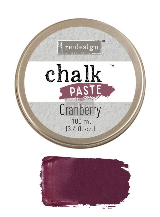 Redesign Chalk Paste® 3.4 fl. oz. (100ml) - Cranberry
