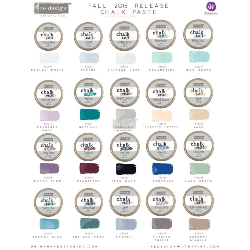Redesign Chalk Paste® 3.4 fl. oz. (100ml) - Buxton Blue