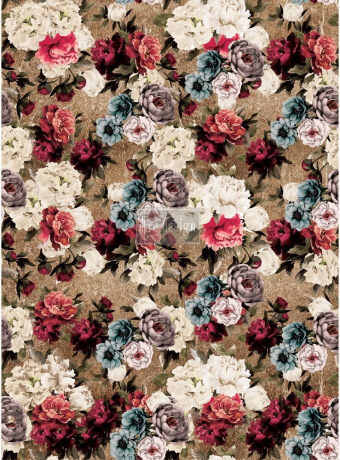 "Redesign Décor Transfers®- Tea Rose Garden 22""x 30"""