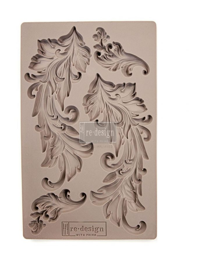 "Redesign Décor Moulds® 5""x8""- Baroque Swirls"