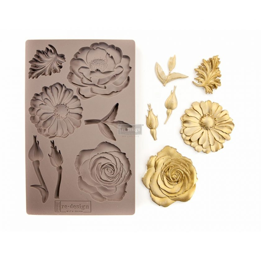 """Redesign Décor Moulds® 5""""x8"""" - In The Garden"""