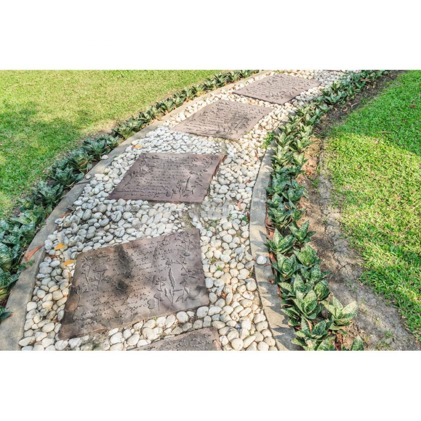 """Redesign Paver Mould 12""""x12""""- Summer Love"""