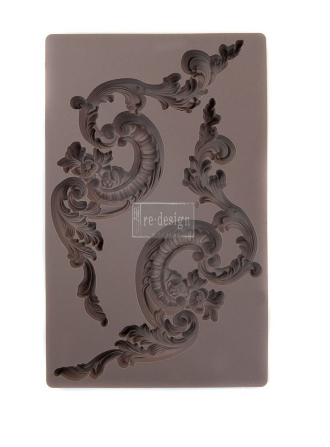 "Redesign Décor Moulds® 5""x8"" - Italian Villa Scrolls"