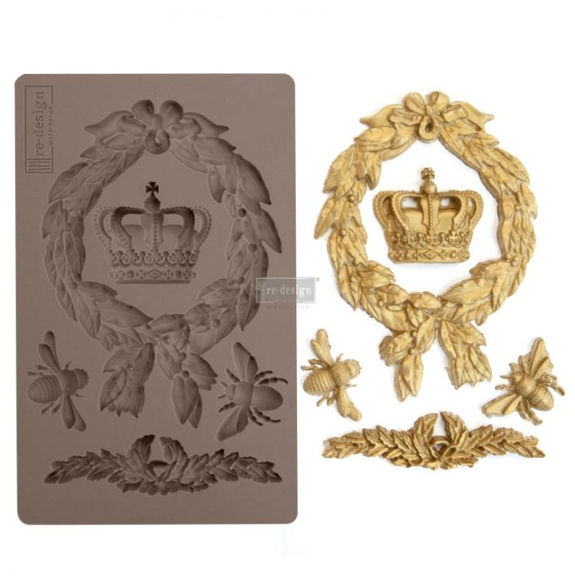 """Redesign Décor Moulds® 5""""x8"""" - Royalty"""