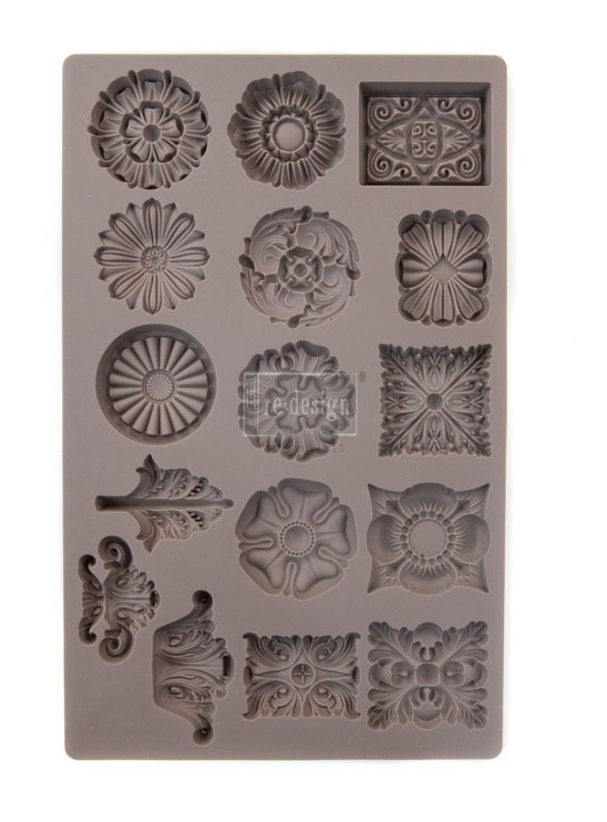 "Redesign Décor Moulds® 5""x8"" - Etruscan Accents"