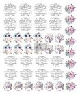 """Redesign Knob Transfer - Spring Meadow 8.5""""X10.5"""" Sheet size"""