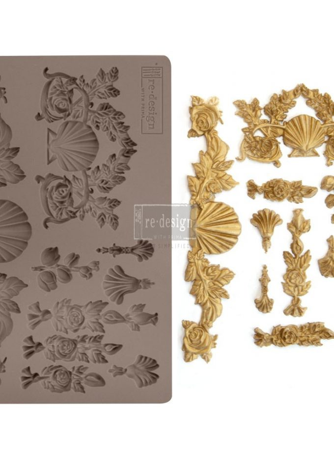"""Redesign Décor Moulds® 5""""x8"""" - Seawashed Treasures"""