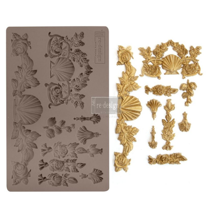 "Redesign Décor Moulds® 5""x8"" - Seawashed Treasures"