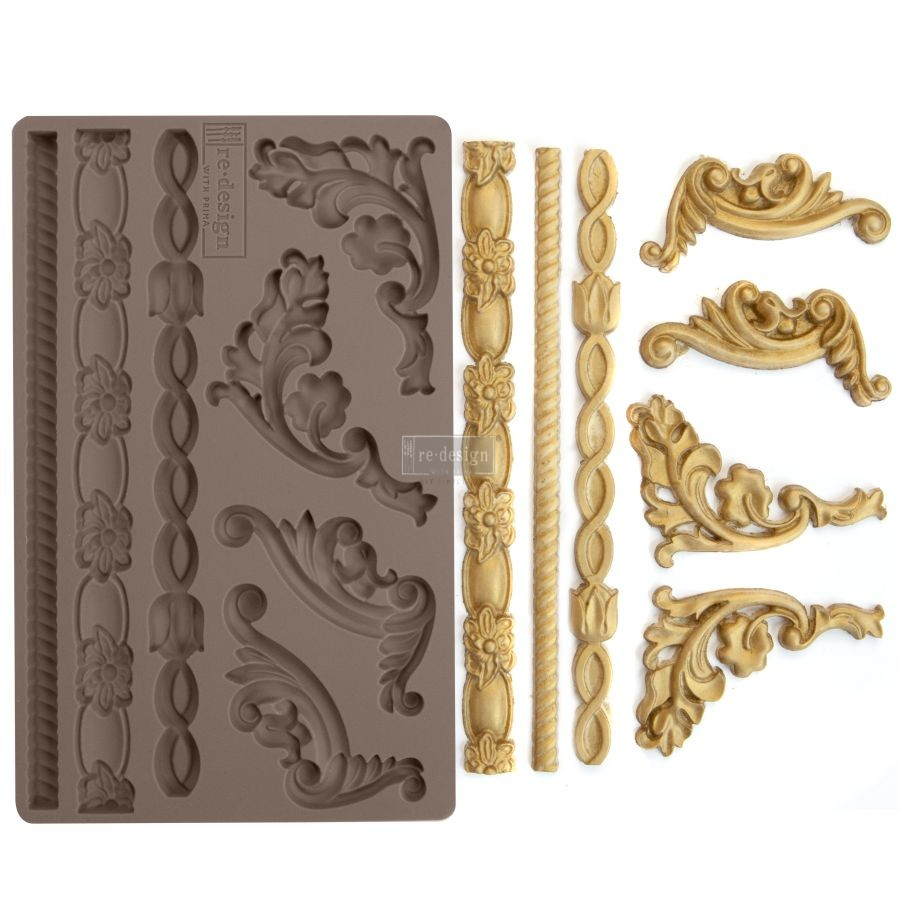 """Redesign Décor Moulds® 5""""x8"""" - Italian Accents"""