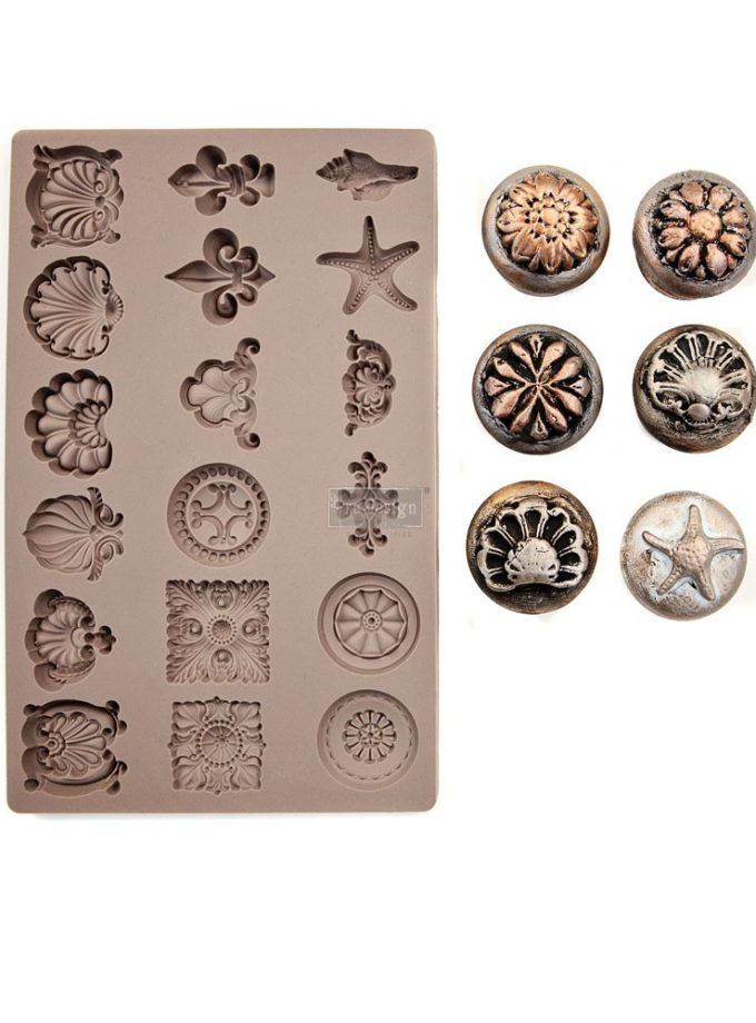 "Redesign Décor Moulds® 5""x8"" - Seashore Treasures"
