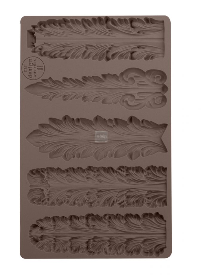 "Redesign Décor Moulds® -Royal Fountains 5""x 8"" 8 mm thickness"