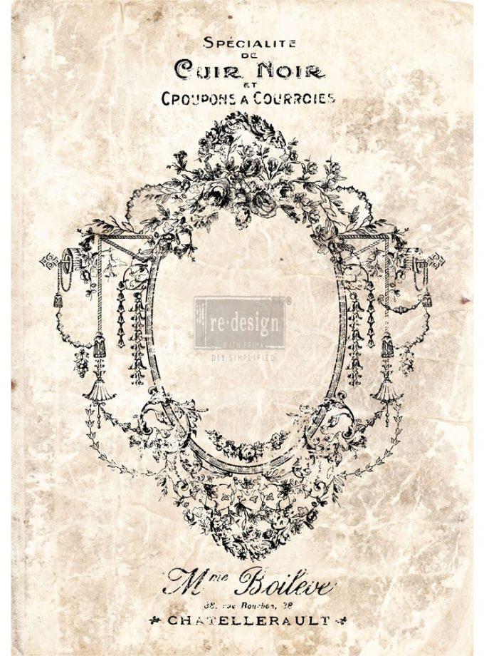 "Redesign Décor Transfers® - Antique Imprint 24""x 34"""