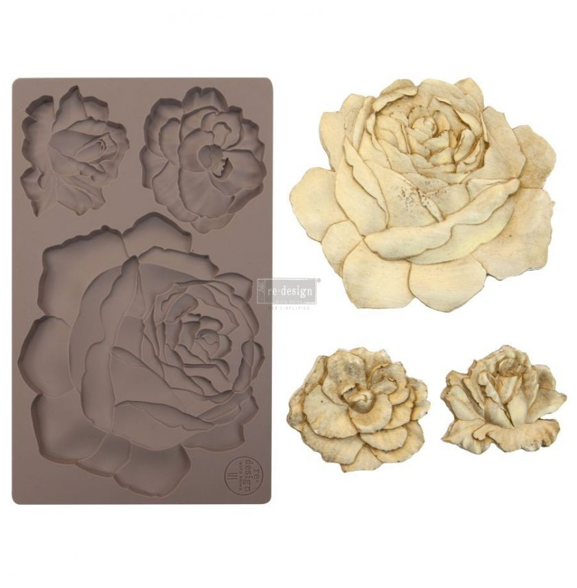 "Redesign Décor Moulds® 5""x8"" - Etruscan Rose"