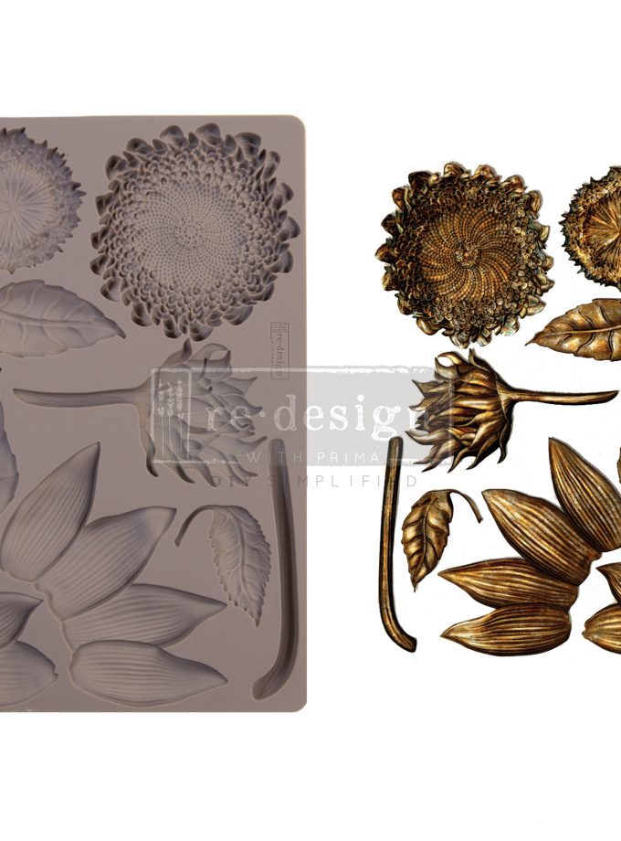 """Redesign Decor Moulds® - Forest Treasures - 5"""" x 8"""", 8mm thickness"""