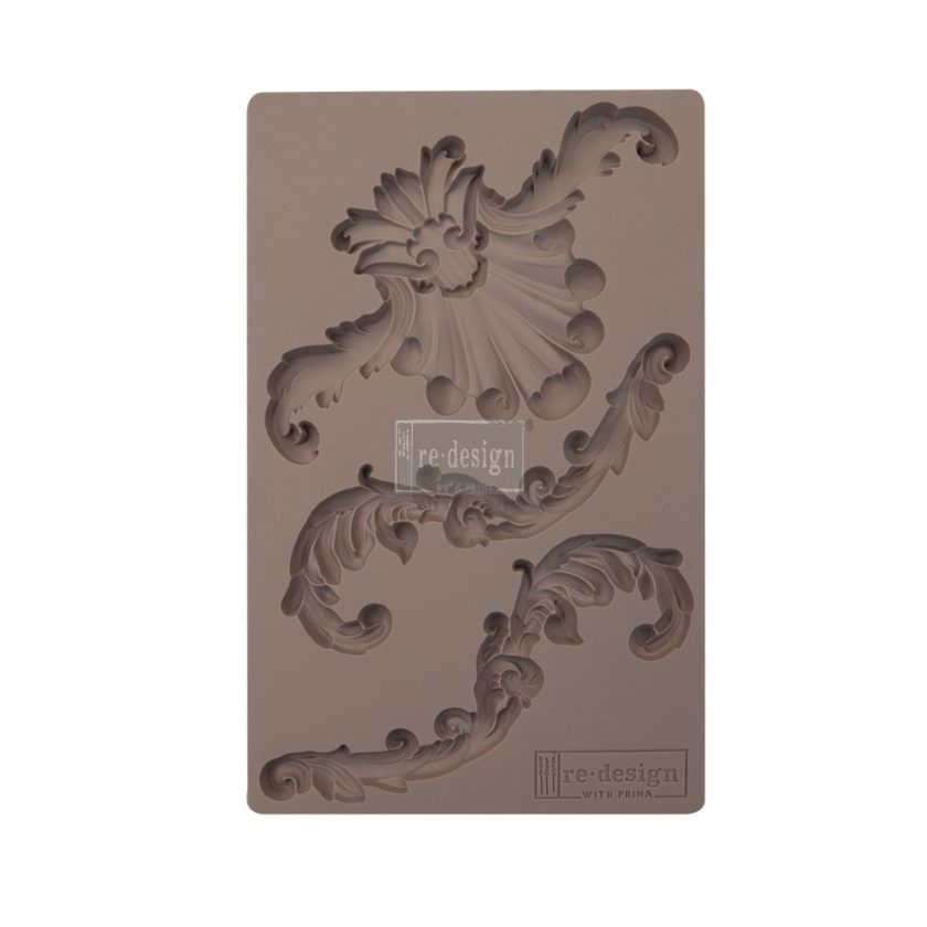 "Redesign Décor Moulds® 5""x8"" - Greco Crest"