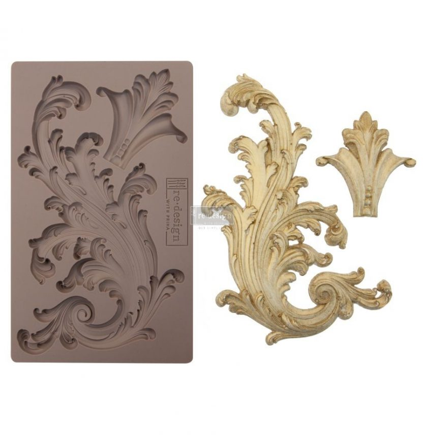 """Redesign Décor Moulds® 5""""x8""""- Portico Scroll II"""