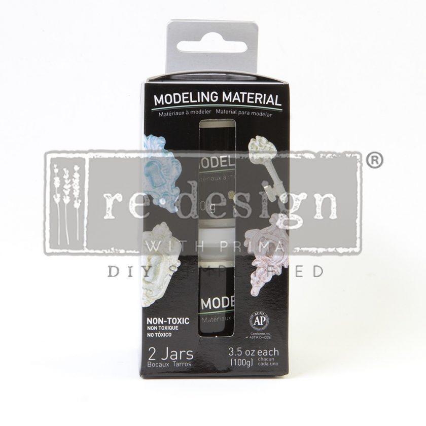 Modeling Material Jar, set of 2 /box. 3.5 oz. each.