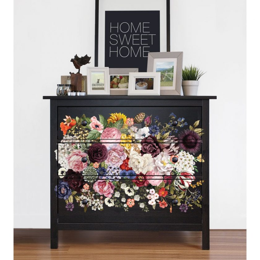 "Redesign Décor Transfers® - Wondrous Floral size 22""x 34"""