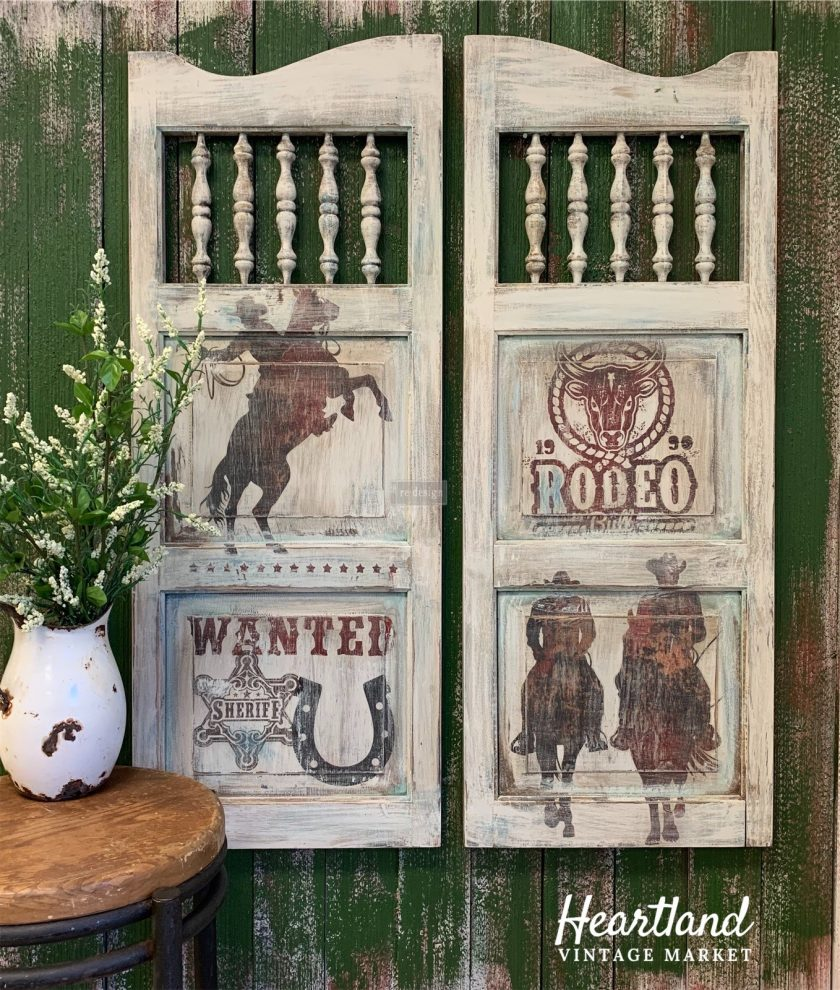 """Redesign Décor Transfers® - Rodeo size 24""""x 34"""""""