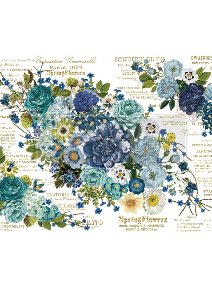 """Redesign Decor Transfers® - Cosmic Roses design size 44"""" X 30"""" 6 sheets"""