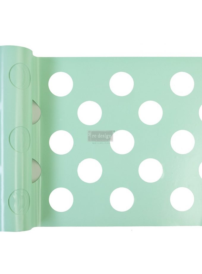 """Redesign Stick & Style® - Multi-Large Dot - 1 roll - 7in x 3yds (6"""" design)"""