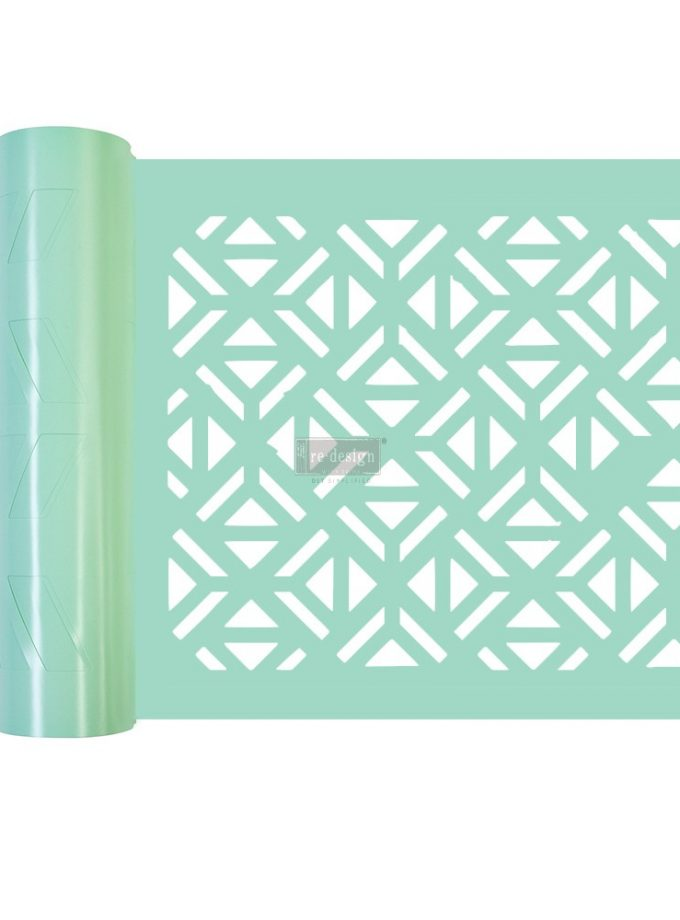 "Redesign Stick & Style® - Irregular Triangles - 1 roll - 7in x 3yds (6"" design)"