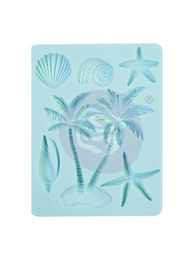 "Surfboard Collection Silicone Mould - 3.5"" x 4.5"", 8mm thickness"