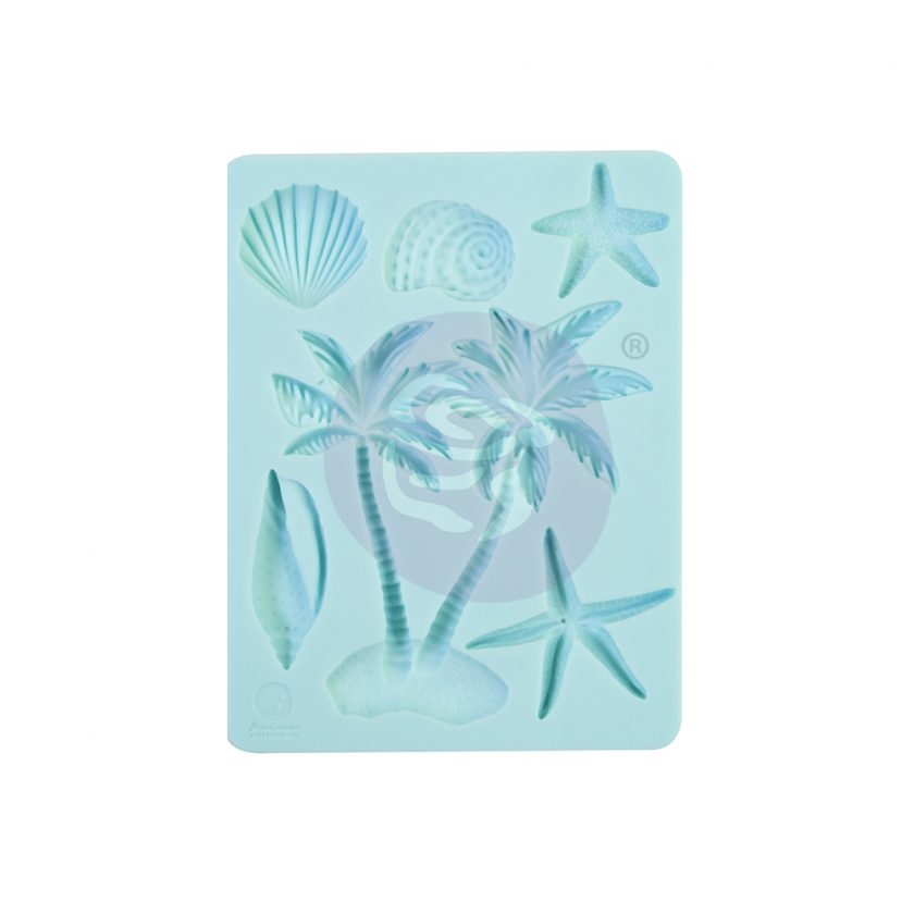 """Surfboard Collection Silicone Mould - 3.5"""" x 4.5"""", 8mm thickness"""
