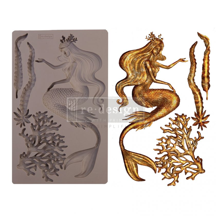 """Redesign Decor Moulds® - Sea Maven - 5"""" x 8"""", 8mm thickness"""