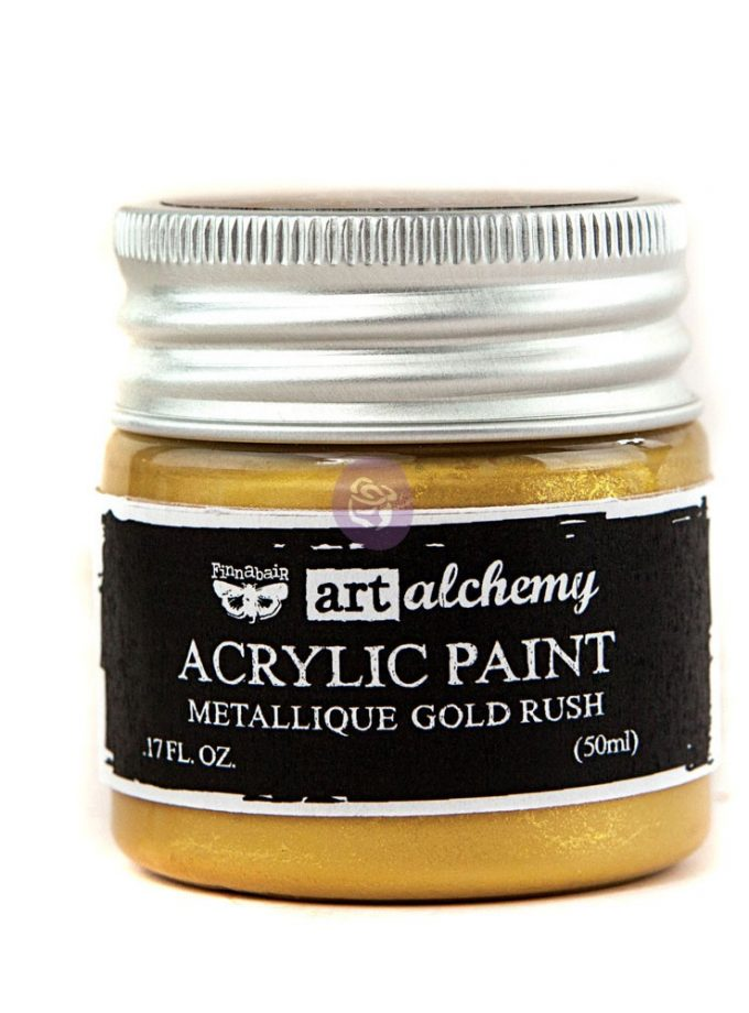 Art Alchemy-Acrylic Paint-Metallique Gold 1.7 fl.oz (50ml)