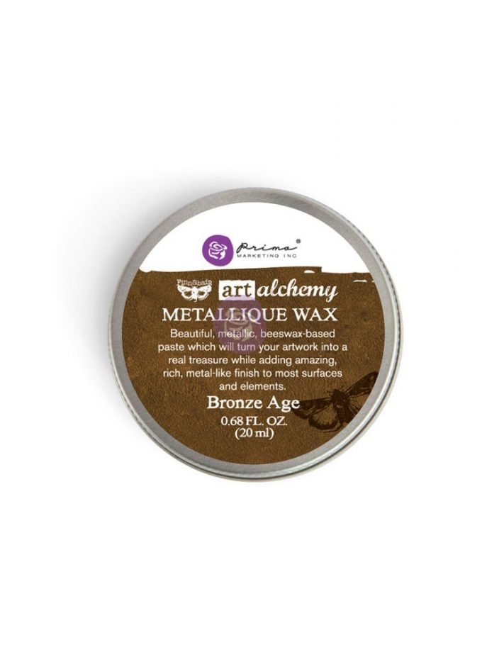 Art Alchemy-Metallique Wax-Bronze Age .68oz (20ml)