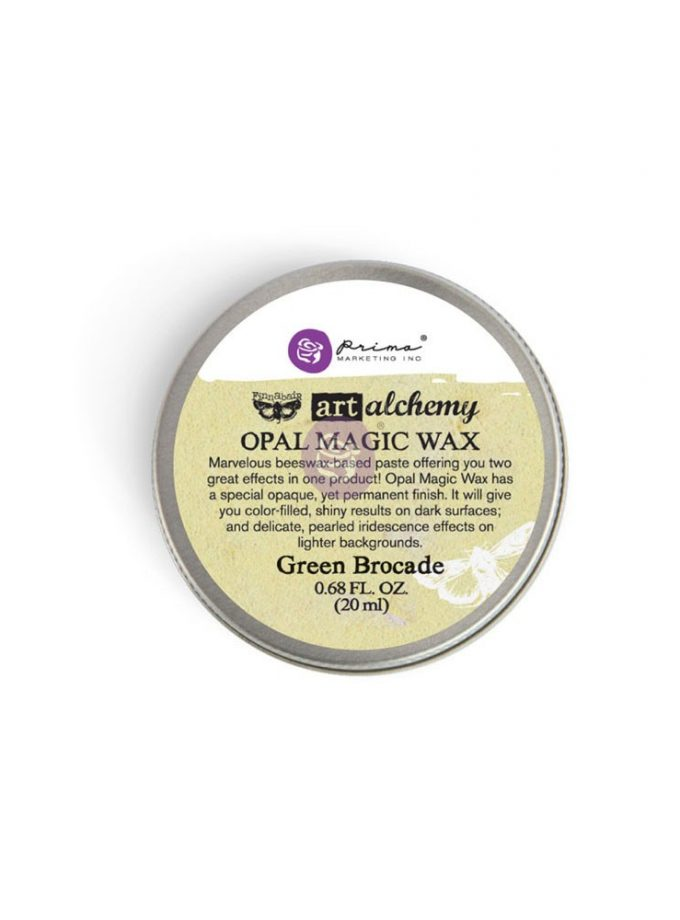 Art Alchemy-Opal Magic Wax-Green Brocade .68oz (20ml)