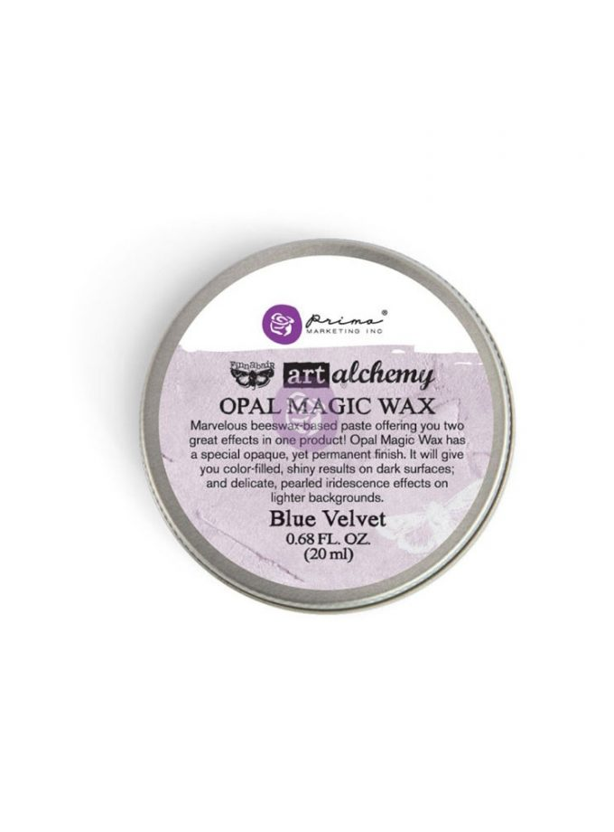 Art Alchemy-Opal Magic Wax-Blue Velvet .68oz (20ml)