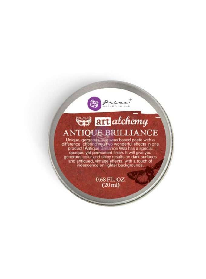 Art Alchemy-Antique Brilliance-Fire Ruby .68oz (20ml)