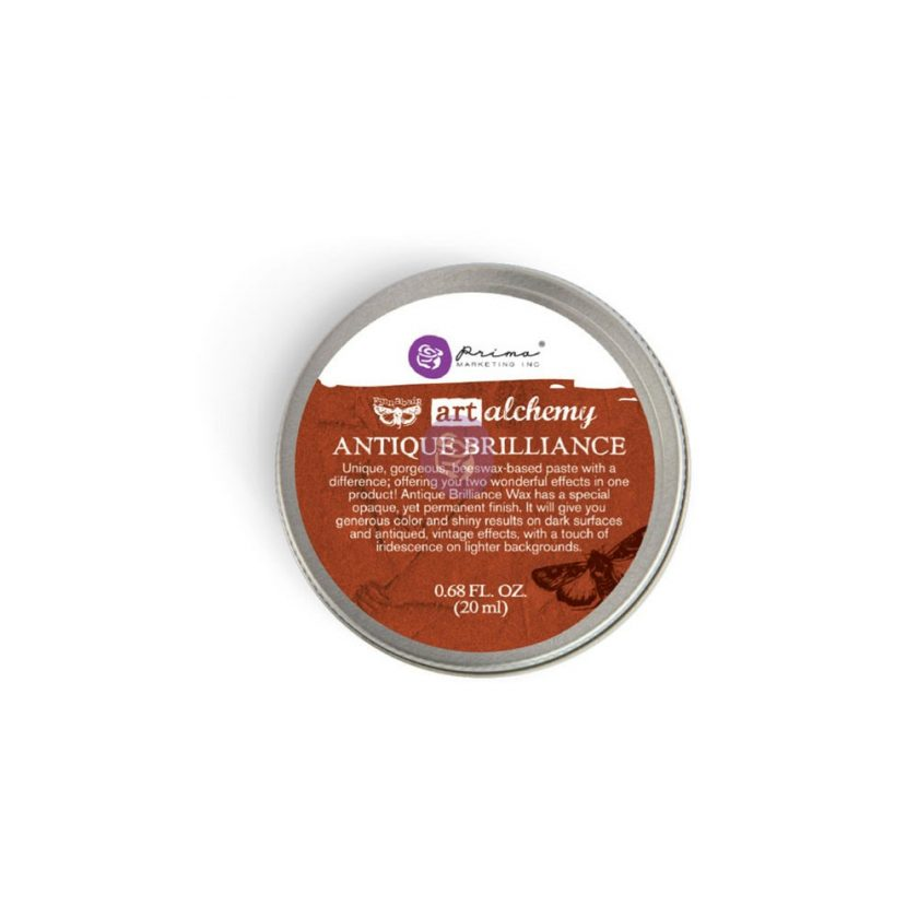 Art Alchemy-Antique Brilliance-Red Amber .68oz (20ml)