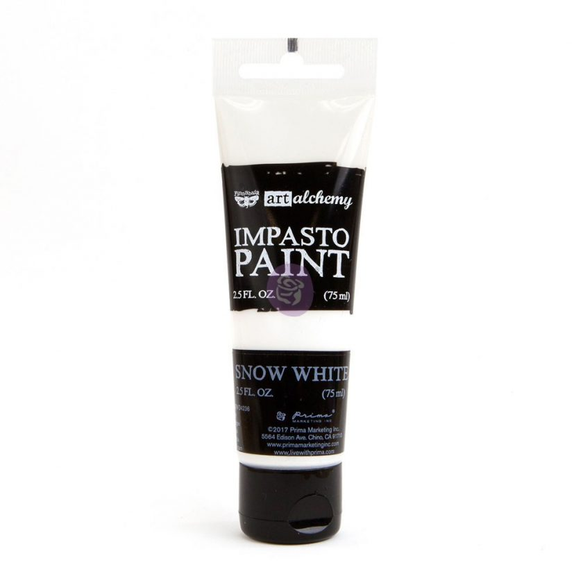 Art Alchemy - Impasto Paint - Snow White 2.5 oz