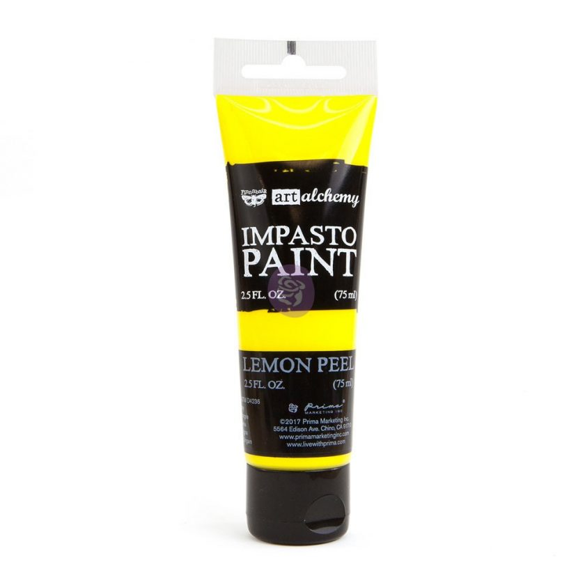 Art Alchemy - Impasto Paint - Lemon Peel 2.5 oz